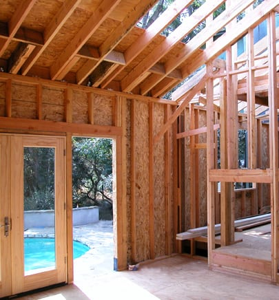 House framing construction for What is a frame home